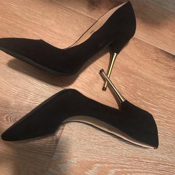 Shoe Dazzle Black Stilettos Size 7 With